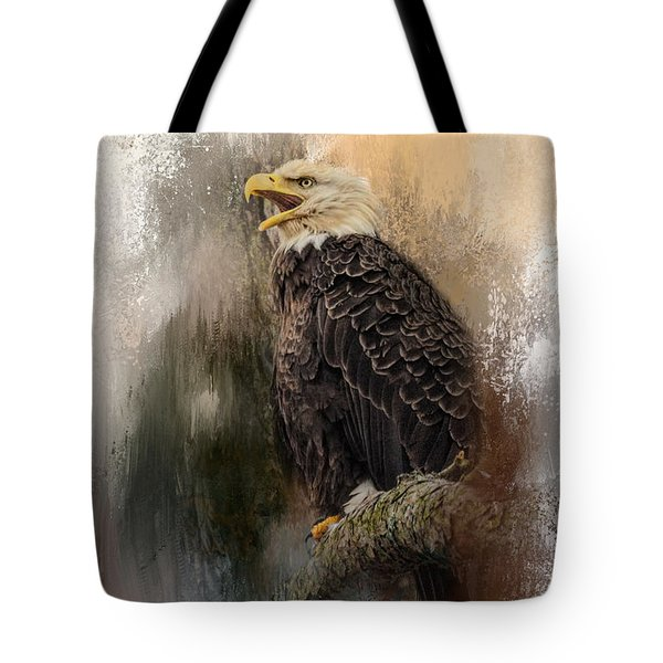 Winter Eagle 3 Tote Bag