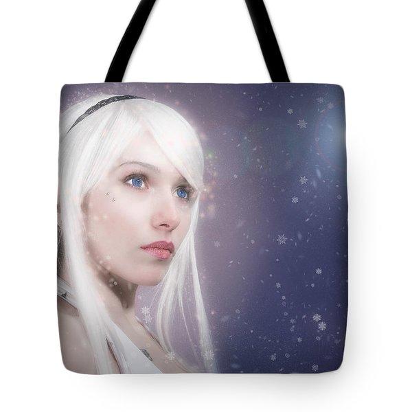 Winter Fae Tote Bag by Rikk Flohr