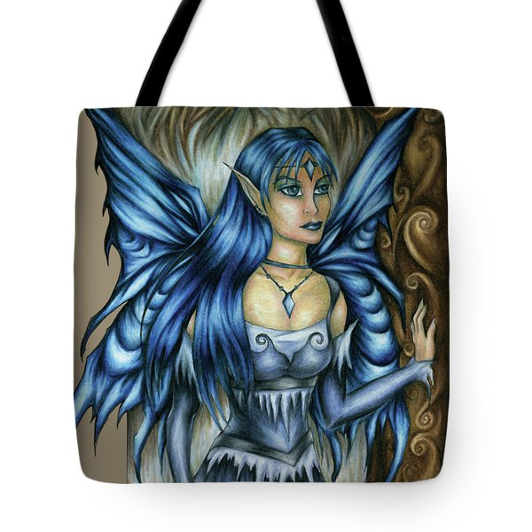 Winter Fairy Drawing Tote Bag