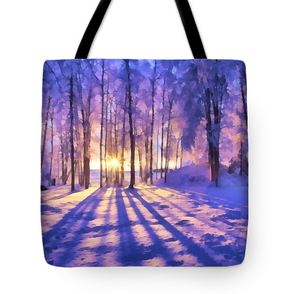 Winter Fairy Tale Tote Bag