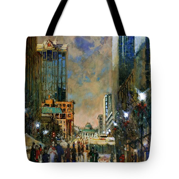 Winter Festival Evening Tote Bag