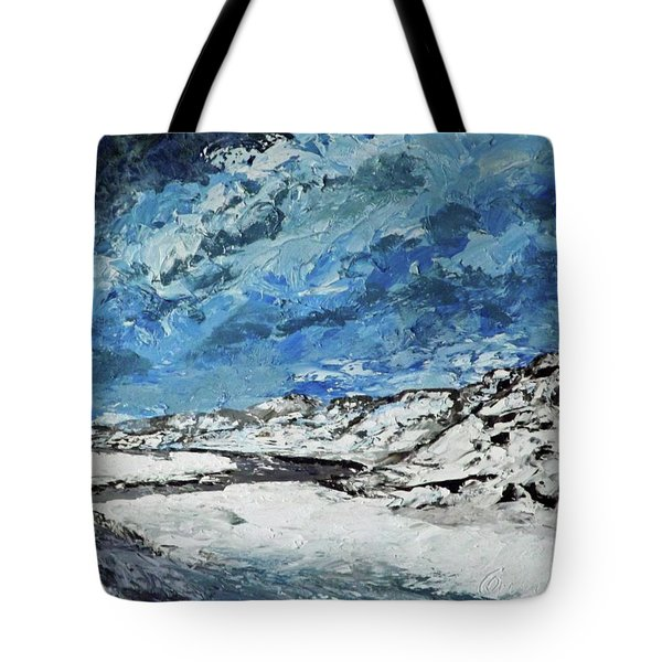 Winter Filled Arroyo Tote Bag