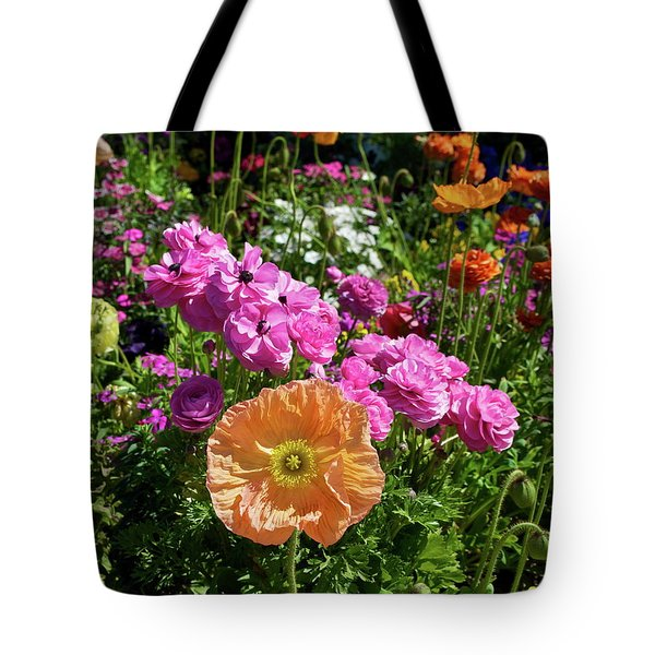 Winter Flowers Tote Bag by Gwyn Newcombe