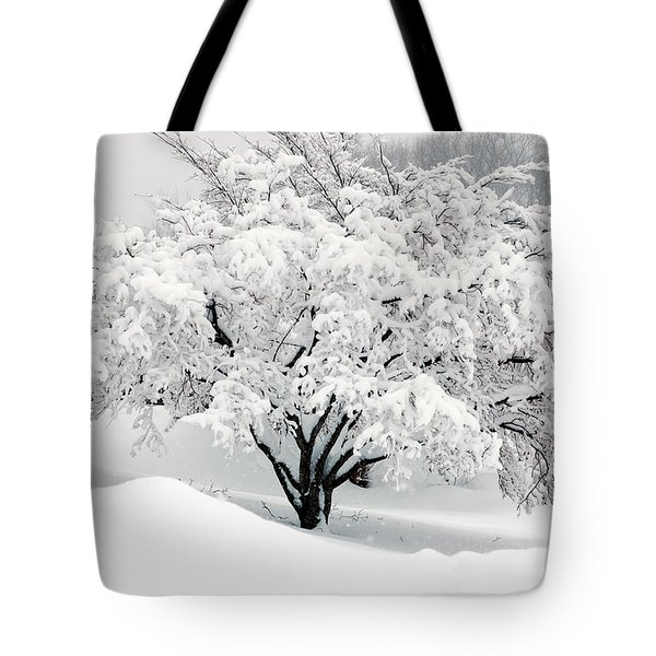 Winter Fluff Tote Bag