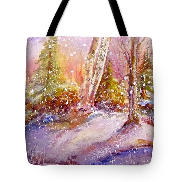 Winter Forest  Tote Bag