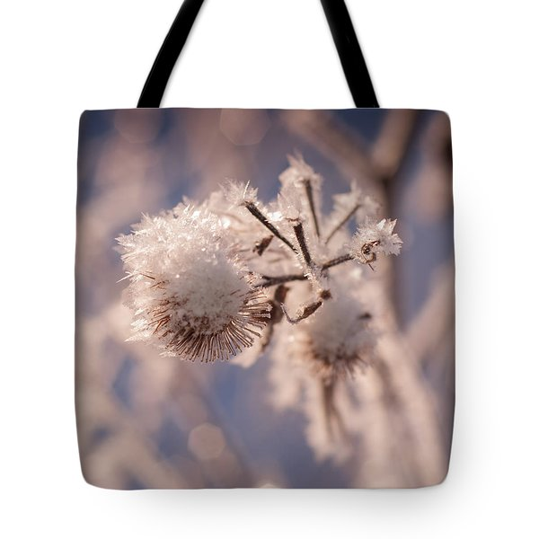 Winter Frost Tote Bag