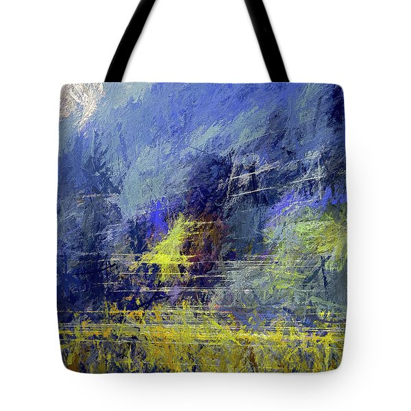 Winter Frosty Morning Tote Bag