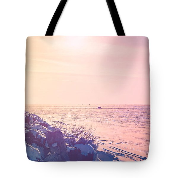 Tote Bag featuring the photograph Winter Fun by Joel Witmeyer