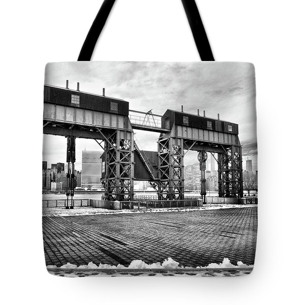 Winter Gantry Tote Bag