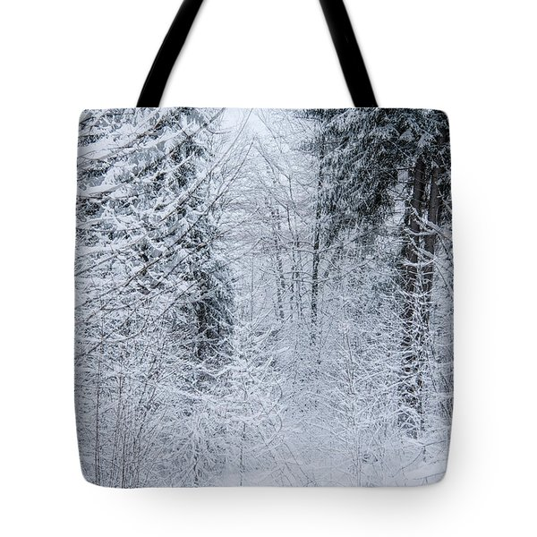 Tote Bag featuring the photograph Winter Glow- by JD Mims