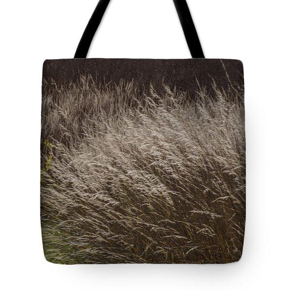 Winter Grass Tote Bag