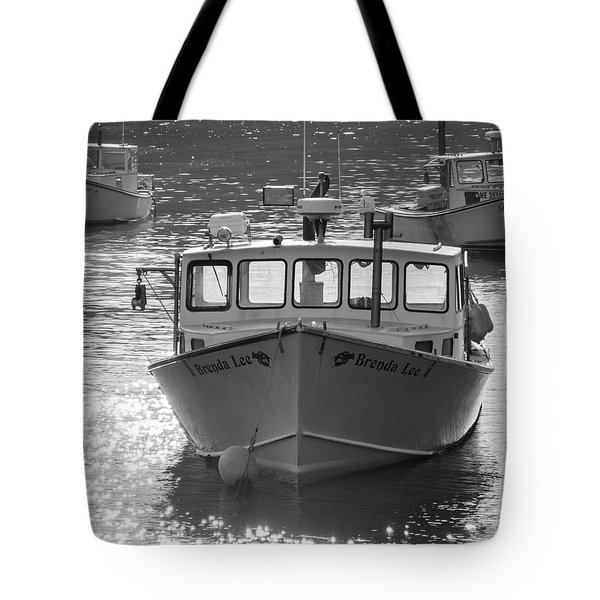 Winter Harbor, Maine  Tote Bag
