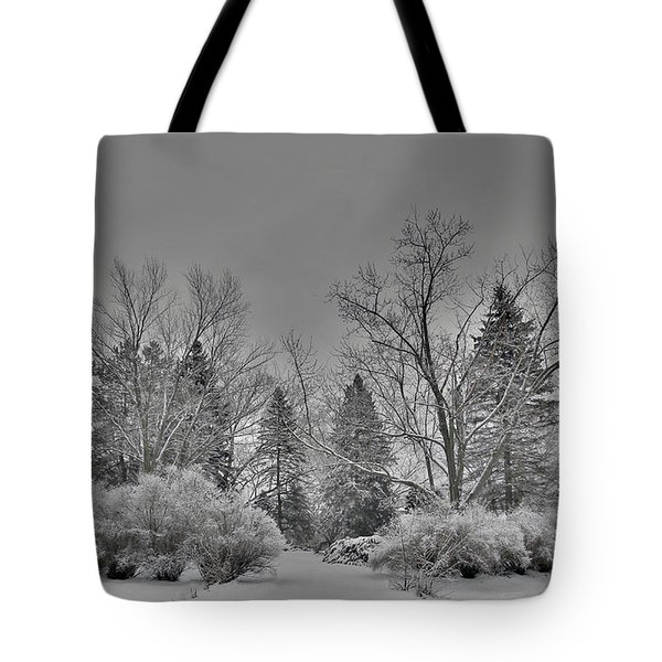 Winter Harmony Tote Bag