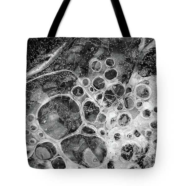 Winter Ice 7 Tote Bag