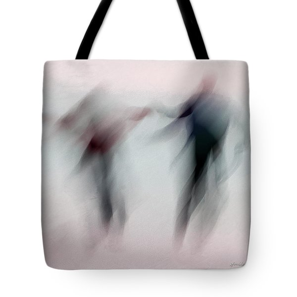 Winter Illusions On Ice - Series 1 Tote Bag