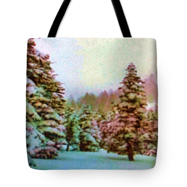 Winter Impressions Tote Bag