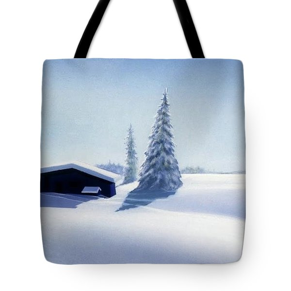 Winter In Austria Tote Bag