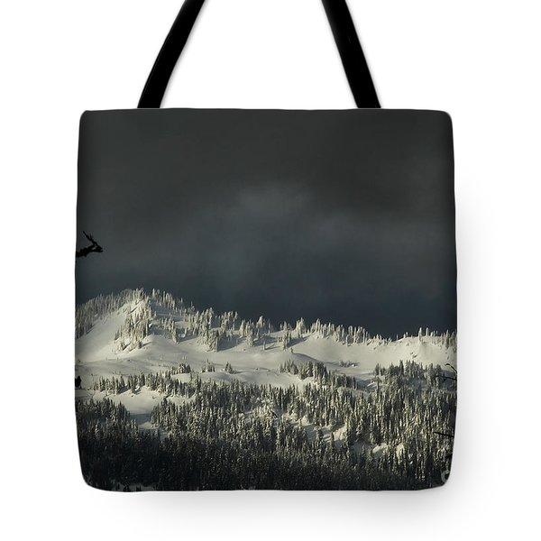 Winter In North Cascades Tote Bag