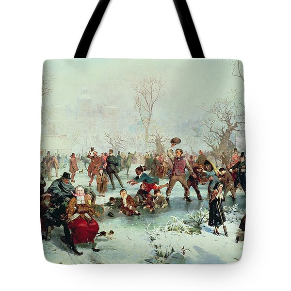 Winter In Saint James's Park Tote Bag by John Ritchie