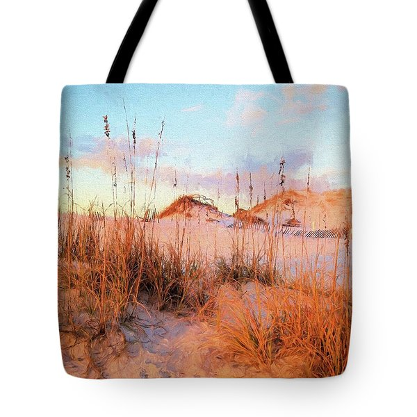 Tote Bag featuring the photograph Winter In South Walton by Cathy Findley