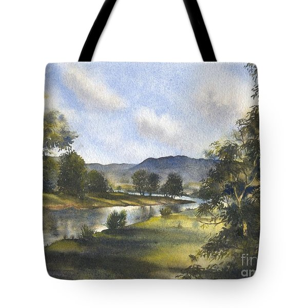 Winter In The Bellinger Valley Tote Bag