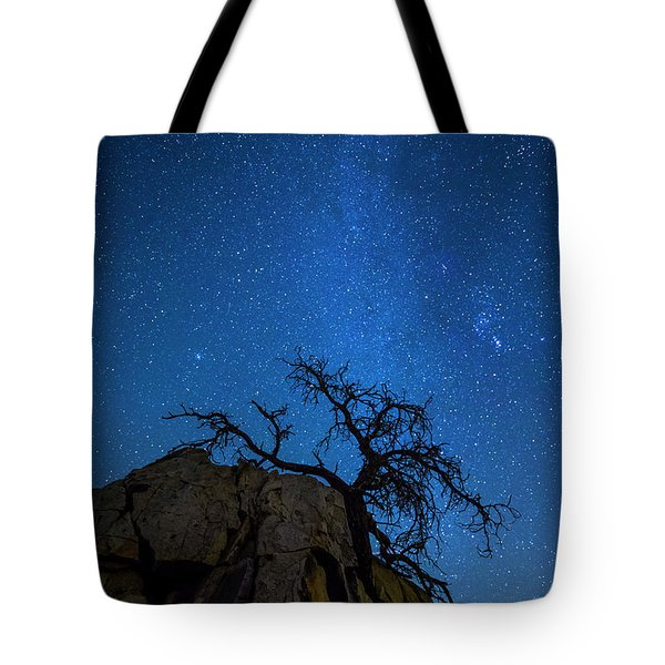 Winter In The Desert Tote Bag