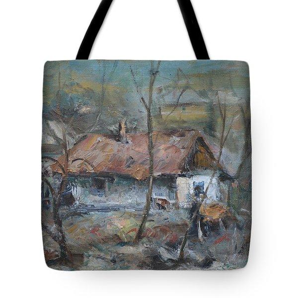 Winter In Zimbreni Tote Bag