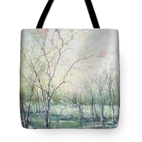 Winter Interlude Tote Bag