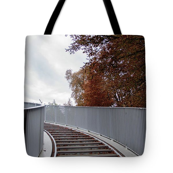 Winter Is Around The Corner Tote Bag by Ana Mireles