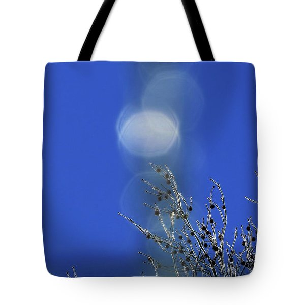 Tote Bag featuring the digital art Winter Joy by Kathleen Illes