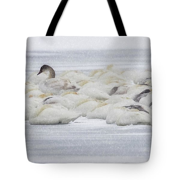 Tote Bag featuring the photograph Winter by Kelly Marquardt