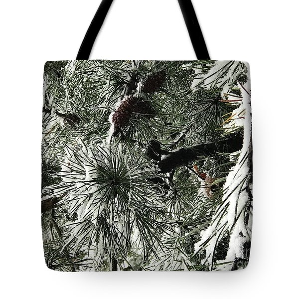 Winter Land  Tote Bag