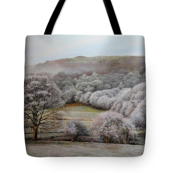 Winter Landscape Tote Bag by Harry Robertson