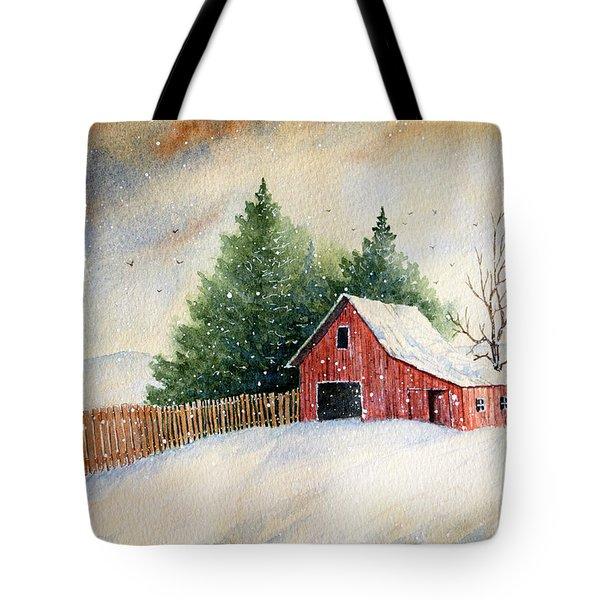 Winter Landscape IIi Tote Bag