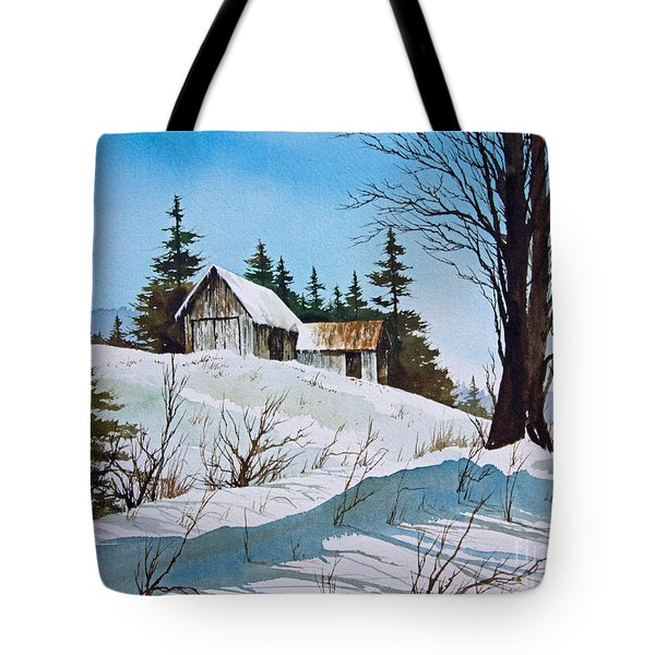 Winter Landscape Tote Bag by James Williamson