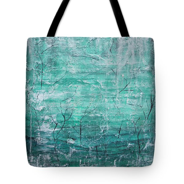 Winter Landscape Tote Bag by Jocelyn Friis