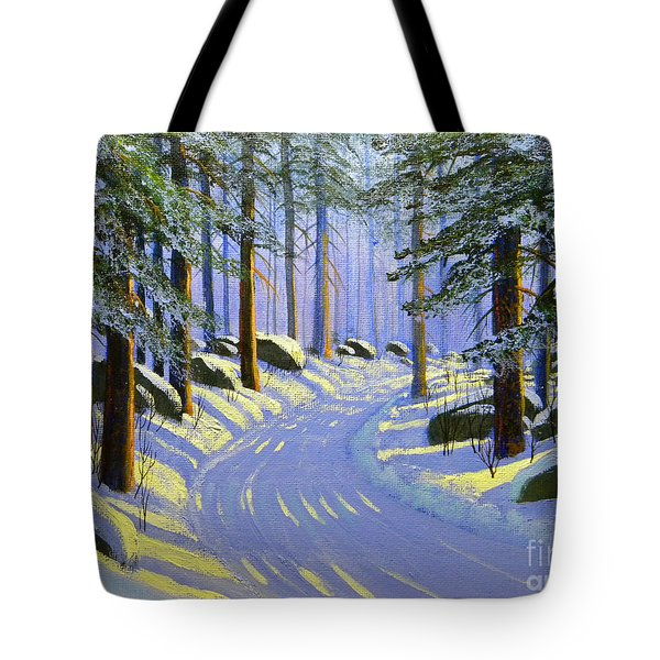 Winter Landscape Study 1 Tote Bag by Frank Wilson