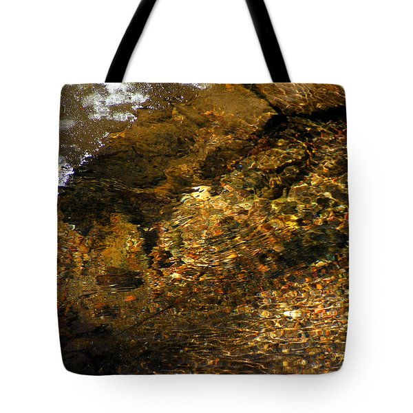 Winter Leaving Tote Bag