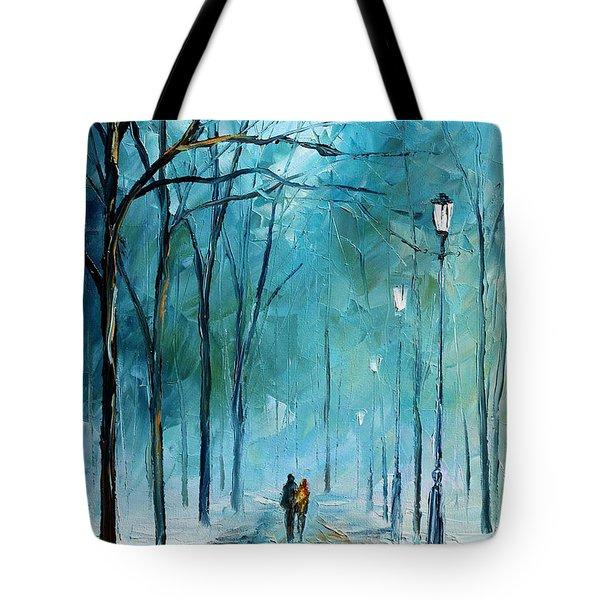 Winter Tote Bag by Leonid Afremov