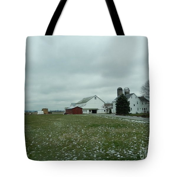 Winter Letting Go Tote Bag