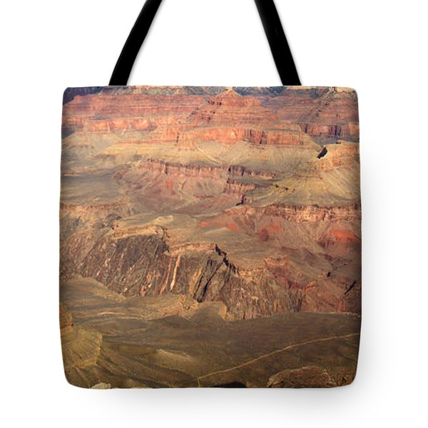 Winter Light In Grand Canyon Tote Bag
