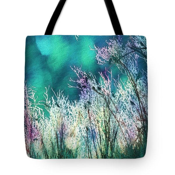 Winter Lights Tote Bag