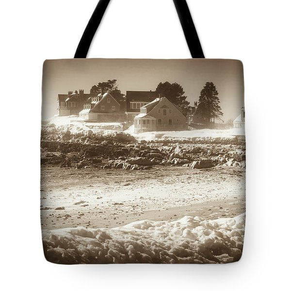 Winter - Lord's Point - Kennebunk Tote Bag