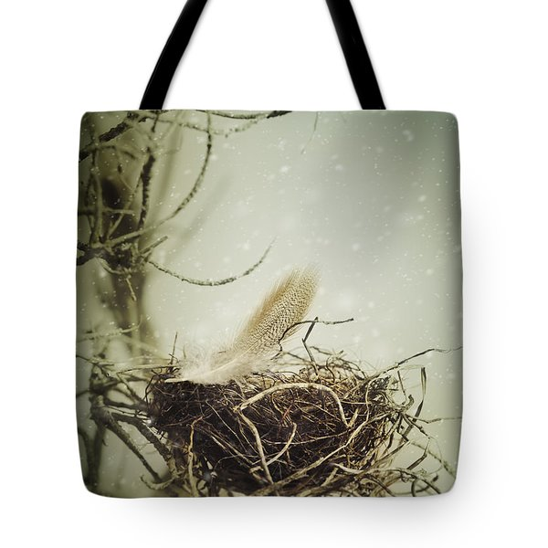 Tote Bag featuring the photograph Winter Lullaby by Amy Weiss