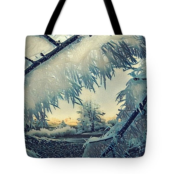 Winter Magic Tote Bag