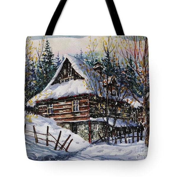 Winter Magic II  Tote Bag