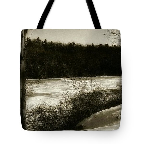 Winter Magic In Cook Forest Tote Bag