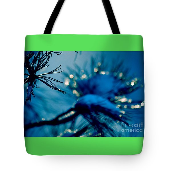Tote Bag featuring the photograph Winter Magic by Susanne Van Hulst