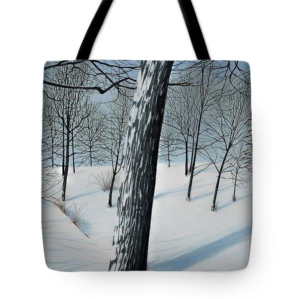 Winter Maple Tote Bag