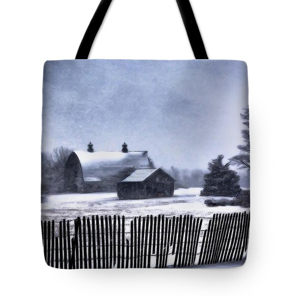 Tote Bag featuring the photograph Winter by Mark Fuller